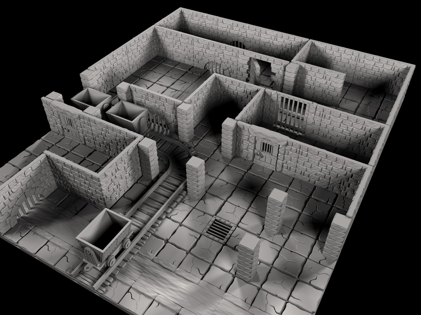 Dungeon Tiles - Gaming Accessories