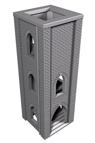 Urban Dice Tower
