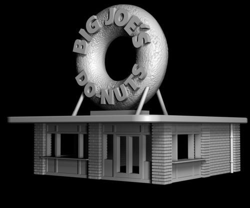Big Joe's Donut Shop - Precinct 187