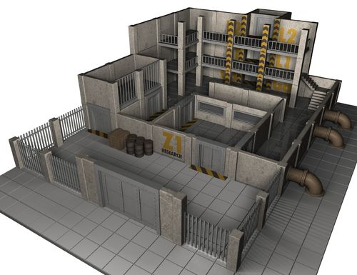 Block Z Research Facility  - Precinct 187