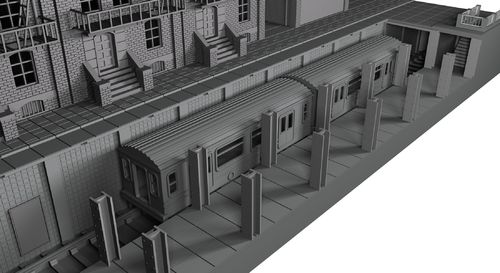 Subway Station - Precinct 187